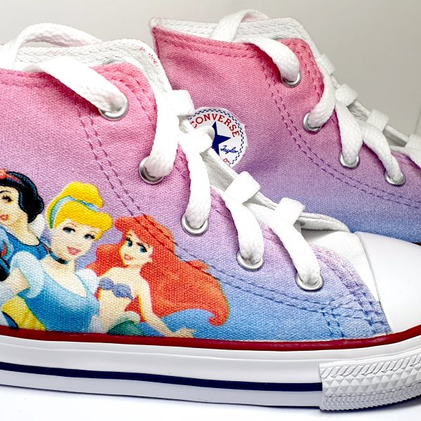 Disney Princesses Converse