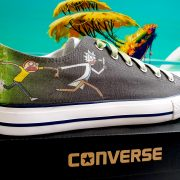 Rick & Morty Converse